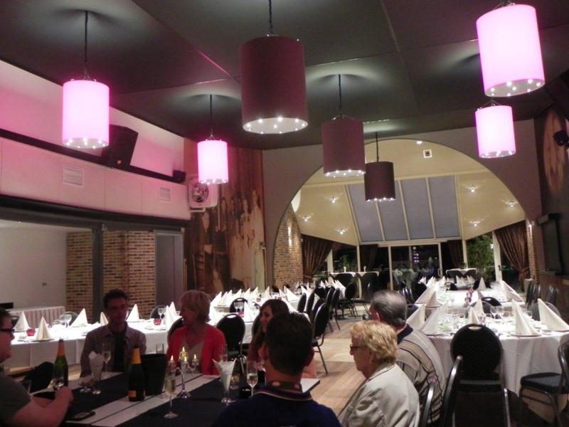 spanplafond realisatie in restaurant
